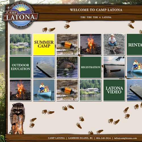 Camp Latona Website