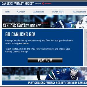 Canucks Fantasy Hockey