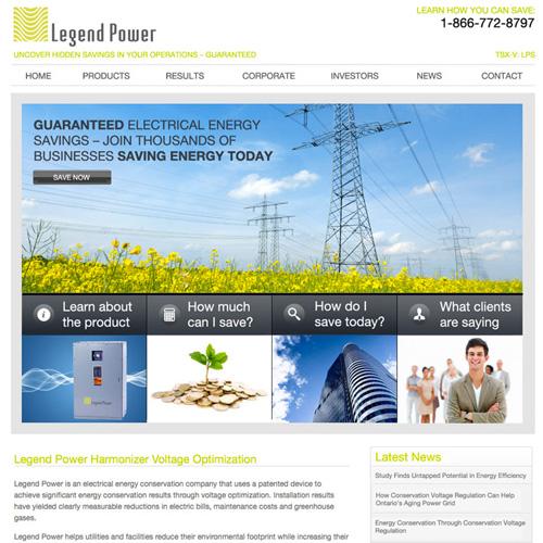 Legend Power Website