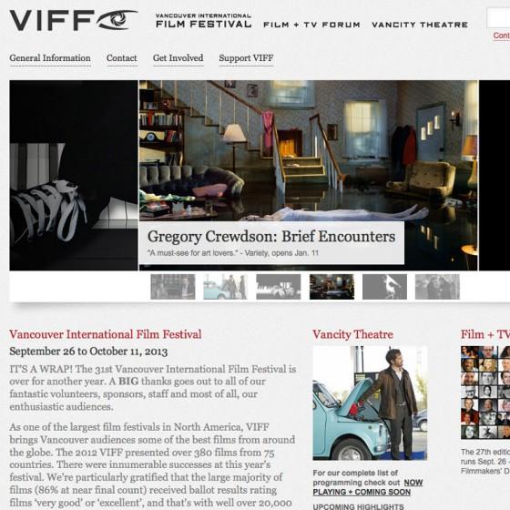 VIFF Website